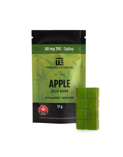 Apple Jelly Bomb (80MG THC Sativa)