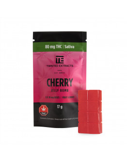 Cherry Jelly Bomb (80mg THC Sativa)
