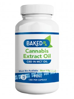 CBD Extract in MCT Oil Capsules (10mg)