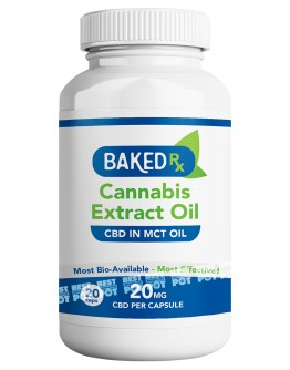CBD Extract in MCT Oil Capsules (20mg)