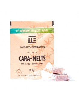 THC Cara-Melts (80mg THC Indica)
